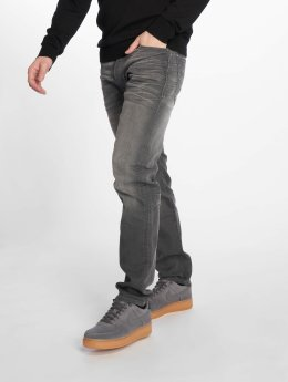 Jack & Jones Straight Fit Jeans Jjimike Jjoriginal šedá