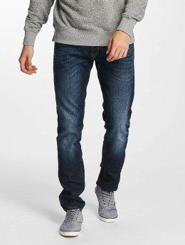 Jack & Jones Straight Fit Jeans Tim Original CR 006 blå