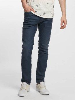 Jack & Jones Straight Fit Jeans jjTim Original JJ 420 blå