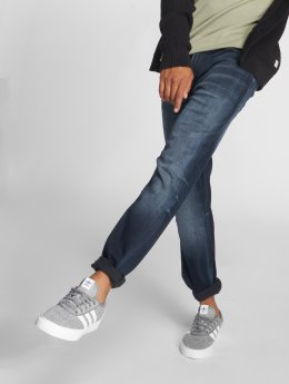 Jack & Jones Straight Fit Jeans Jjiclark Jjoriginal Zip Jos 319 Noos blå