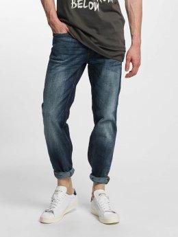 Jack & Jones Straight Fit Jeans jjClark Original Loose Fit blau