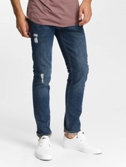 Jack & Jones Straight fit jeans jjiTim jjOriginal AM 419 blauw
