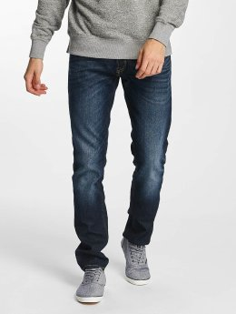 Jack & Jones Straight fit jeans Tim Original CR 006 blauw