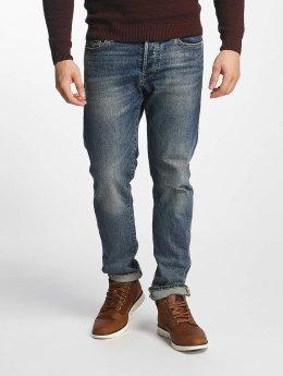 Jack & Jones Straight fit jeans jjMike blauw