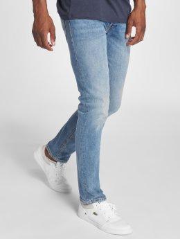 Jack & Jones Straight fit jeans jjiTim blauw