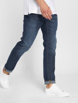 Jack & Jones Straight fit jeans Jjimike Jjoriginal Am 771 blauw