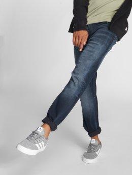 Jack & Jones Straight Fit Jeans Jjiclark Jjoriginal Zip Jos 319 Noos blue
