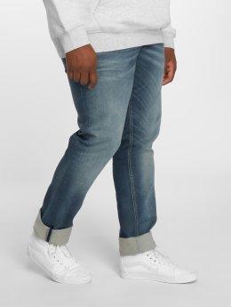Jack & Jones Straight Fit Jeans  modrý