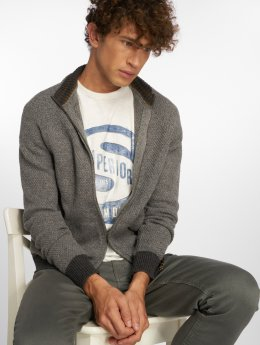 Jack & Jones Strickjacke jprJordy grau