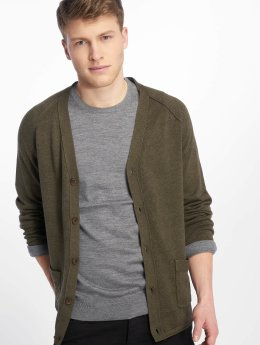 Jack & Jones Strickjacke jprUnion olive