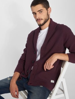 Jack & Jones Strickjacke jorJordan Knit rot