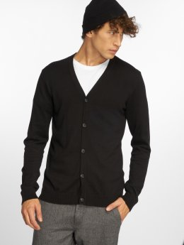 Jack & Jones Strickjacke  jprChamp Knit schwarz