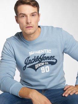 Jack & Jones Sweat & Pull jjeLogo bleu