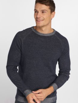 Jack & Jones Sweat & Pull jjePlaited bleu