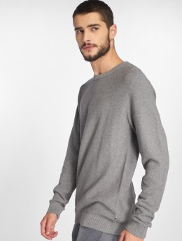 Jack & Jones Sweat & Pull jjeStructure Knit gris