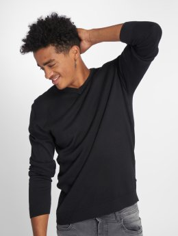 Jack & Jones Sweat & Pull jjeBasic Knit noir