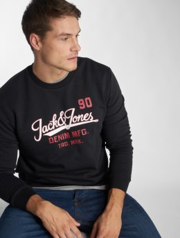 Jack & Jones Sweat & Pull jjeLogo Two Color noir