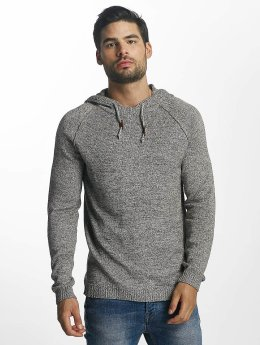Jack & Jones Sweat capuche jorFred Knit blanc