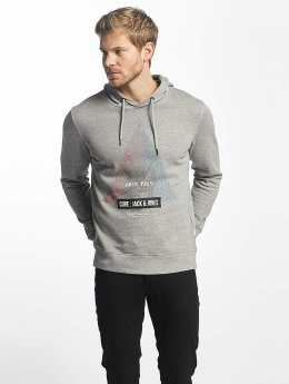 Jack & Jones Sweat capuche jjcoPhlake gris