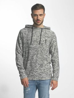 Jack & Jones Sweat capuche jcoPace Knit gris