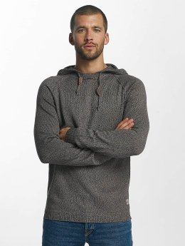 Jack & Jones Sweat capuche jorFred Knit gris