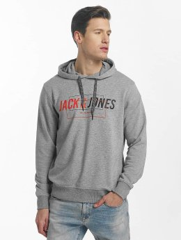 Jack & Jones Sweat capuche jcoLinn gris