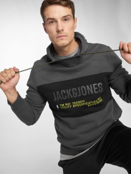 Jack & Jones Sweat capuche jcoPart gris