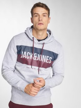 Jack & Jones Sweat capuche jcoBlock gris