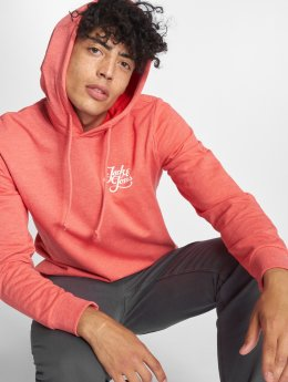 Jack & Jones Sweat capuche Jorgalions rouge