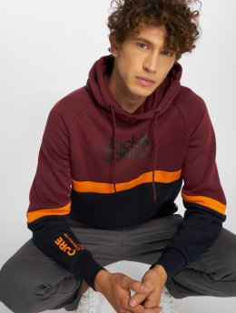 Jack & Jones Sweat capuche jcoBalou rouge