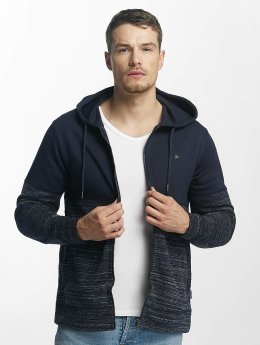 Jack & Jones Sweat capuche zippé jjorKean bleu