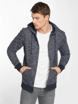 Jack & Jones Sweat capuche zippé jorSpace bleu