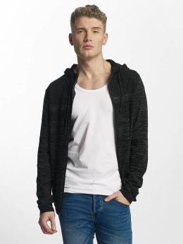 Jack & Jones Sweat capuche zippé jcoPhoenix gris