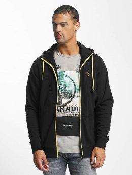 Jack & Jones Sweat capuche zippé jcoPenn noir