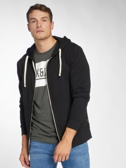 Jack & Jones Sweat capuche zippé jjeHolmen noir