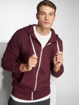 Jack & Jones Sweat capuche zippé jjeHolmen rouge