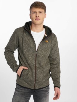 Jack & Jones Sweat capuche zippé jcoQuint vert