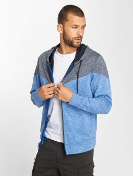 Jack & Jones Sweatvest jcoChevron blauw