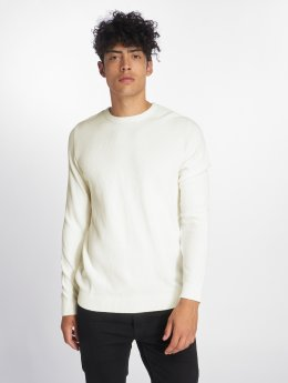 Jack & Jones Swetry jjeStructure Knit bezowy