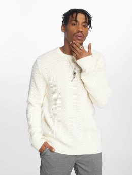 Jack & Jones Swetry jcoStanford bialy