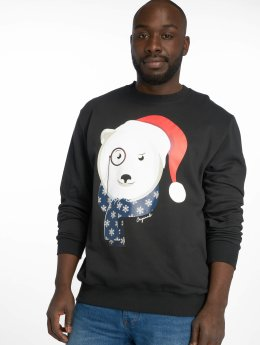 Jack & Jones Swetry jorKritterxmas czarny