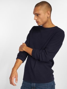 Jack & Jones Swetry jprThomas niebieski