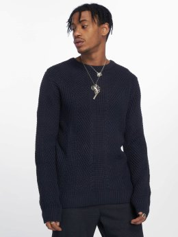 Jack & Jones Swetry jcoStanford niebieski