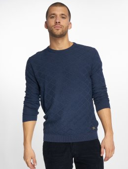 Jack & Jones Swetry Jprboston niebieski