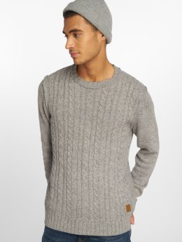 Jack & Jones Swetry Jorjohnson szary