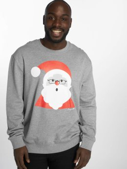 Jack & Jones Swetry jorKritterxmas szary