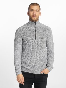 Jack & Jones Swetry jcoKendall szary