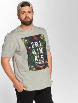 Jack & Jones T-paidat jorRain harmaa