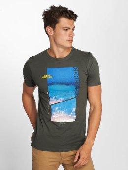 Jack & Jones T-paidat jcoColes harmaa