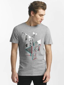Jack & Jones T-paidat jcoHunter harmaa